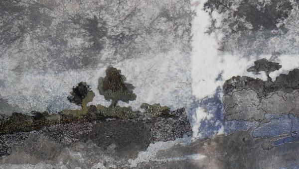 Lutradur Landscapes by Sian Kibblewhite