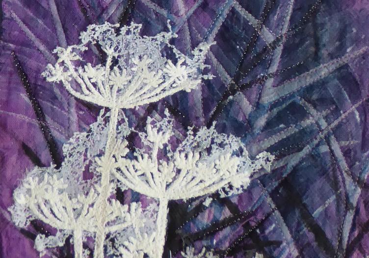 Winter Hedge by Sian Kibblewhite